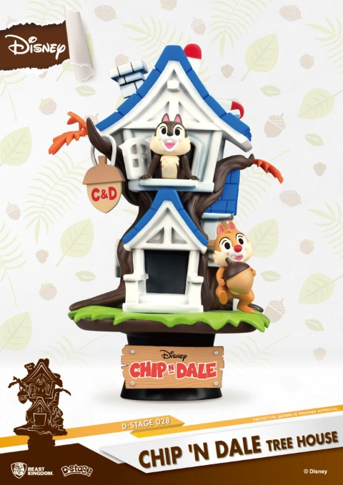 Chip n Dale Tree House Diorama