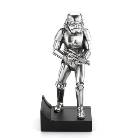 Storm Trooper Figure - Star Wars - Royal Selangor