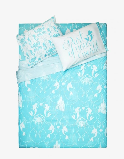 Disney The Little Mermaid Full Double Sheet Set