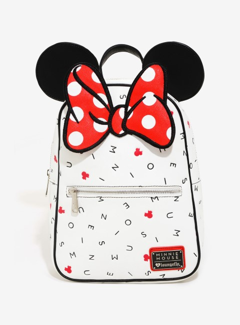 Minnie Scatter Letters Mini Backpack - USA Exclusive