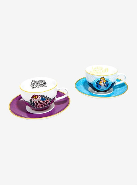Disney Alice in Wonderland Tea Cup Set