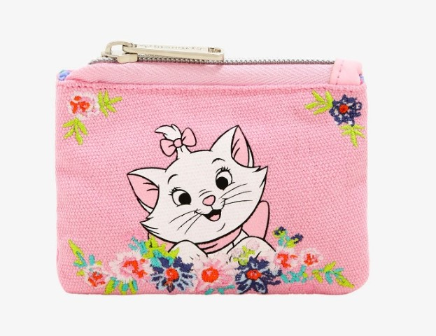 Disney The Aristocats Marie Jadore Le Lait Coin Purse  USA Exclusive