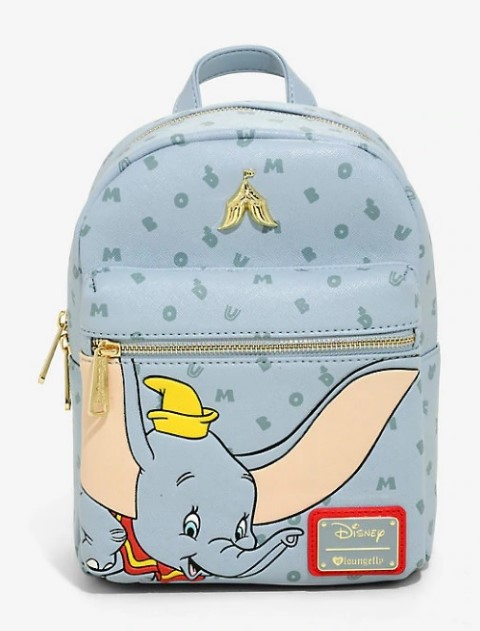 Disney Dumbo Letters Mini Backpack   USA Exclusive