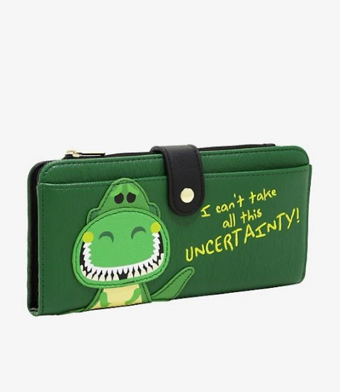 Toy Story Rex Wallet  USA Exclusive