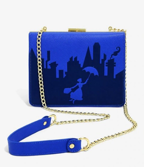 Mary Poppins Embossed Handbag  USA Exclusive