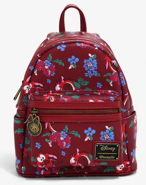 Disney Mulan Floral Mini Backpack  USA Exclusive