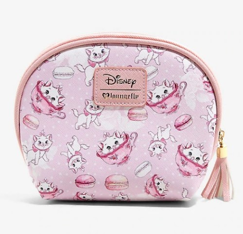The Aristocats Marie Macaron Cosmetic Bag Set  USA Exclusive