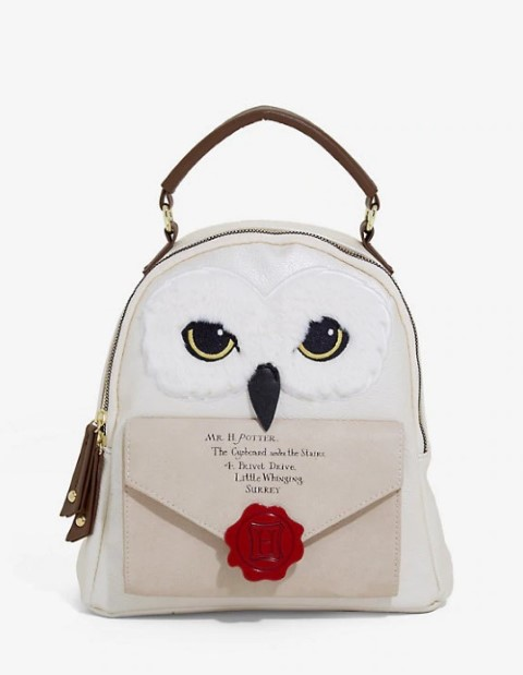 Hedwig Figural Letter Mini Backpack