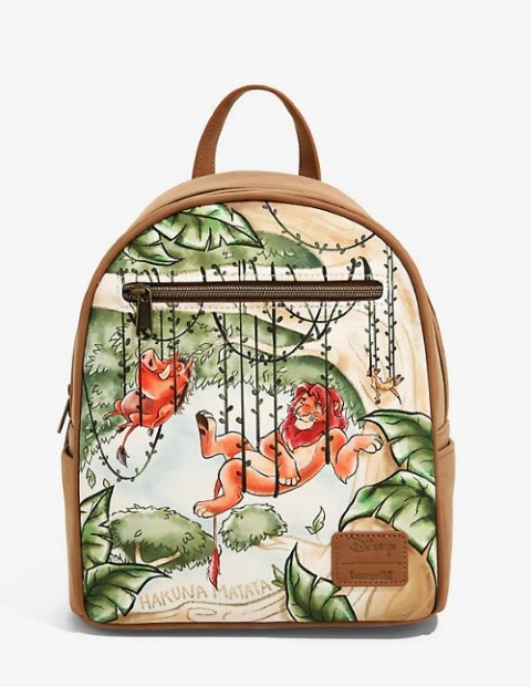 Lion King Vines Mini Backpack