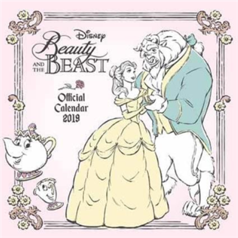 Beauty & The Beast 2019 Calendar