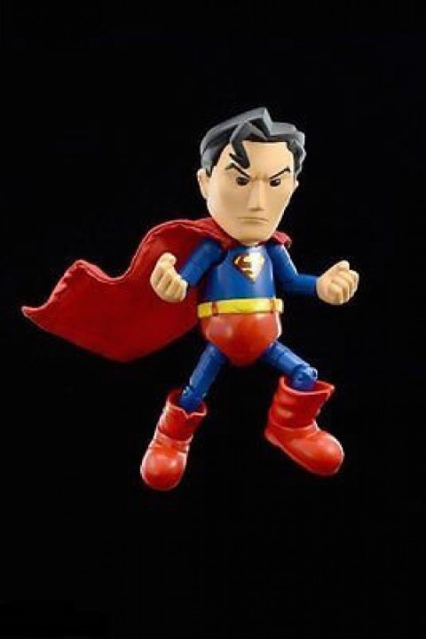 Superman Hybrid Metal Figure