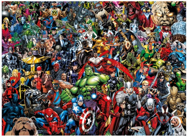 Marvel Impossible Puzzle 1000pc