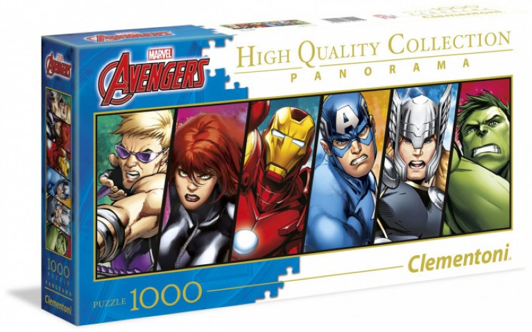 The Avengers Panorama Puzzle 1000pc