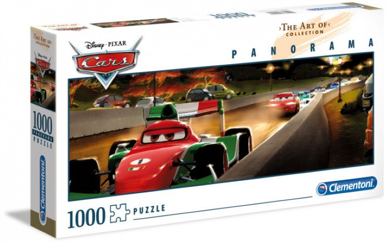 Cars Panorama 1000pc