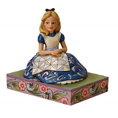 Awaiting an Adventure  Alice in Wonderland Figure