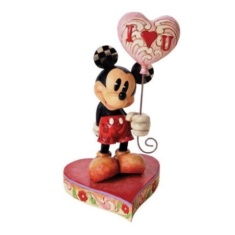 Mickey with Heart Balloon - You Keep Me Grounded