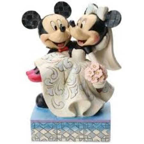 Mickey & Minnie Wedding Figurine