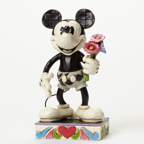 Mickey Black & White - For My Gal Figurine
