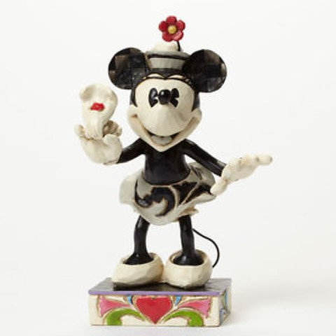 Minnie Black & White Figurine - Yoo-hoo