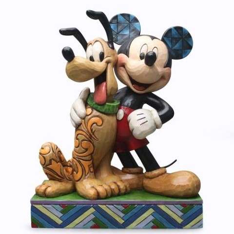 Mickey and Pluto - Best Pals - Disney Traditions