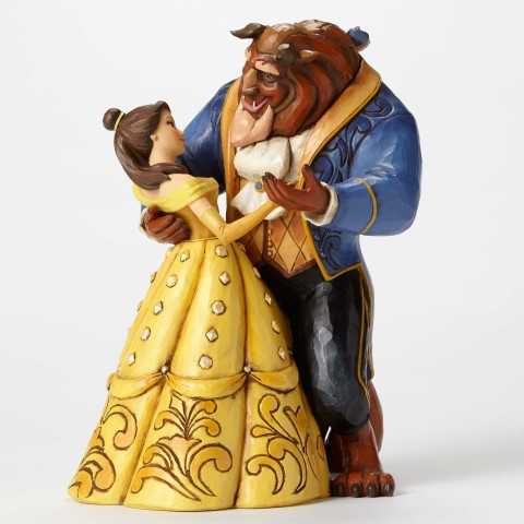 Belle and Beast Dancing - Moonlight Waltz - Disney Showcase