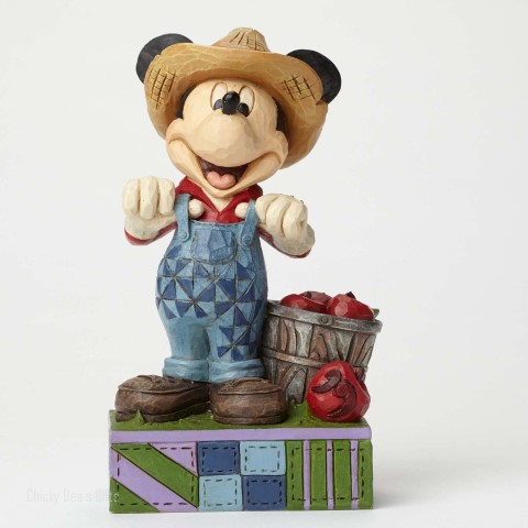 Farmer Mickey Figurine - Fresh From The Farm