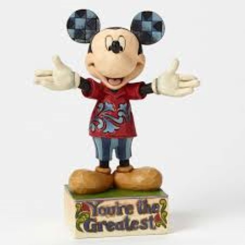 Dad Mickey Figurine - Youre The Greatest