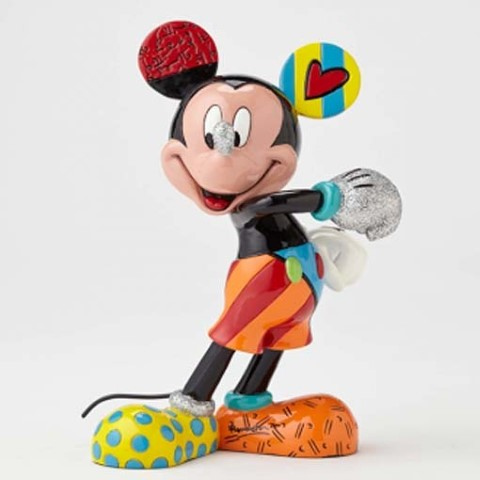 PREORDER  Mickey Mouse Cheerful Medium Figurine
