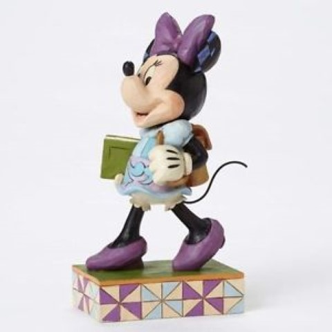 Minnie Back to School Figurine - Top Of The Class