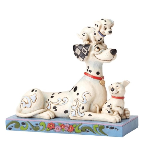 PREORDER  Puppy Love  Pongo w Penny & Rolly Disney Traditions