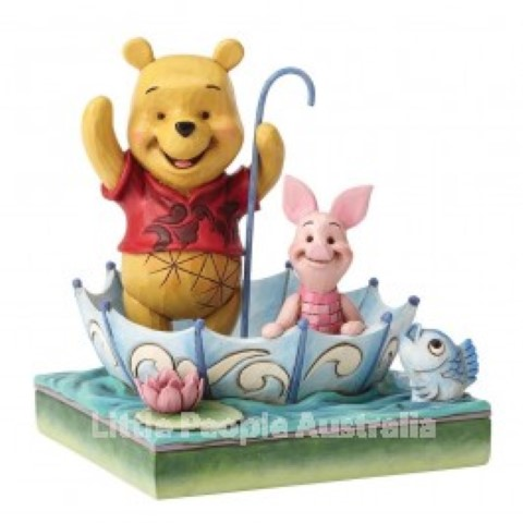 Pooh and Piglet Umbrella - 50 Years of Friendship 50th Anniversary