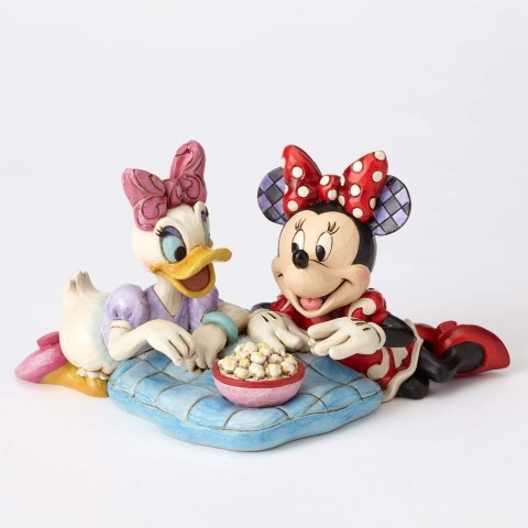 Minnie & Daisy Girls Night Figurine - Girls Night