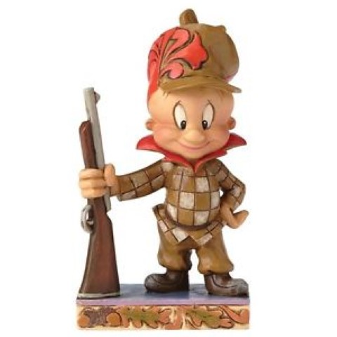 Elmer Fudd - Happy Hunter - Looney Tunes Figure