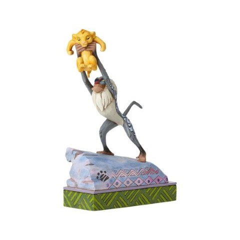 PREORDER  Rafiki and Simba on Pride Rock  Heir To The Throne