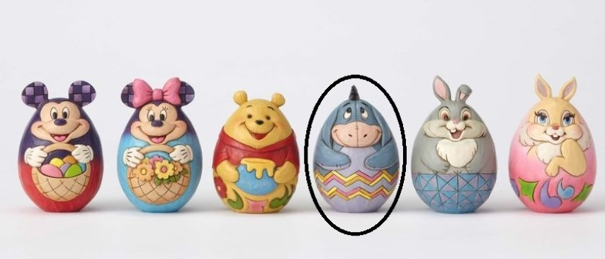 Character Egg Eeyore  Jim Shore Disney Traditions