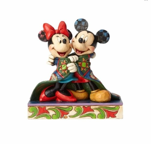 PREORDER  Warm Wishes Mickey & Minnie in Quilt