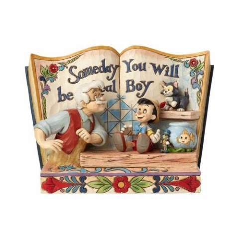 Pinocchio Storybook - Someday You Will Be A Real Boy