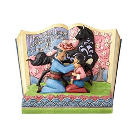The Greatest Honor - Mulan 20th Anniversary Storybook Figurine