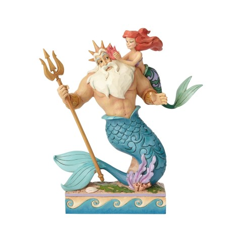 Ariel and Triton - Daddys Little Princess - Disney Traditions