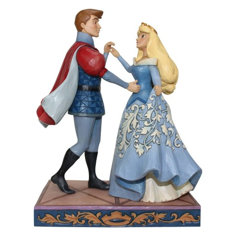 Swept Up In The Moment - Aurora and Prince Dancing Figurine