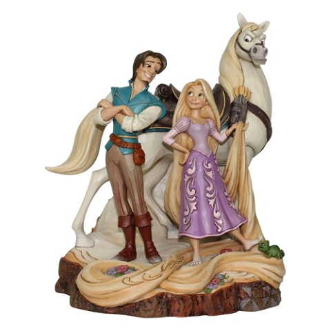Live Your Dream - Tangled Carved by Heart Figurine