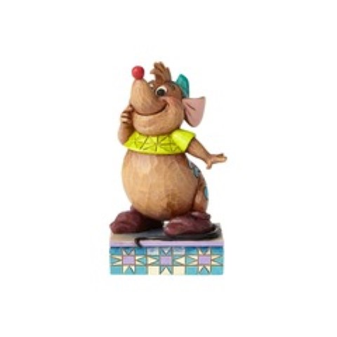 Gus Personality Pose Figurine - Cinderellys Friend