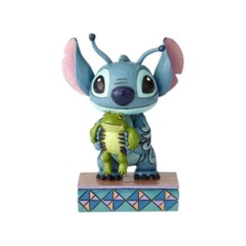Stitch with Frog - Strange Life Forms Figurine