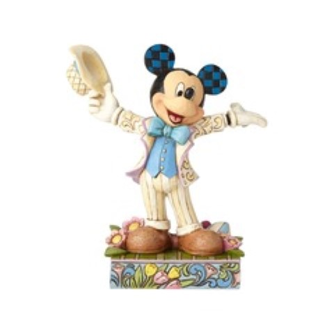 Hats Off to Spring - Easter Mickey Mouse Figurine