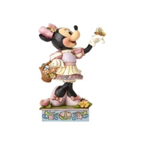 Spring Surprise - Easter Minnie Mouse Figurine