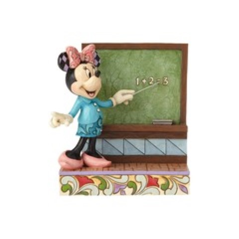 Class Act - Teacher Minnie Personalization Figurine