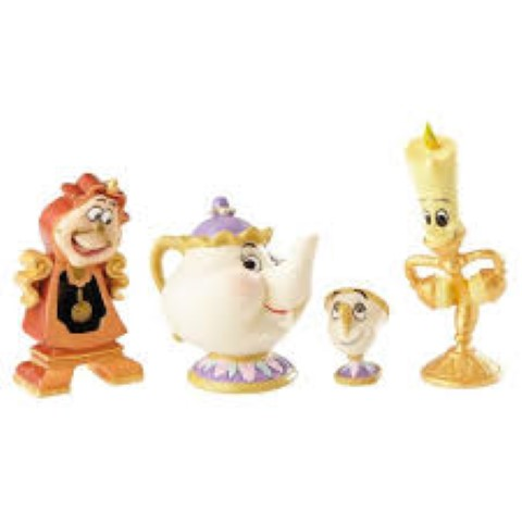 PREORDER  Beauty & The Beast - Enchanted Objects Set