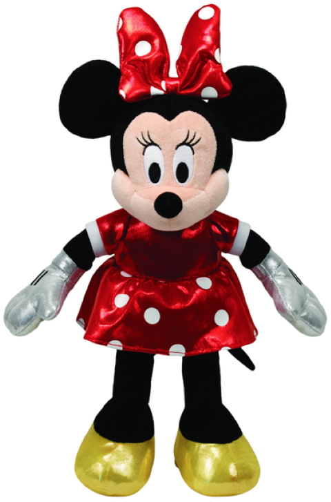 Beanie Boos Regular Minnie Red Sparkle