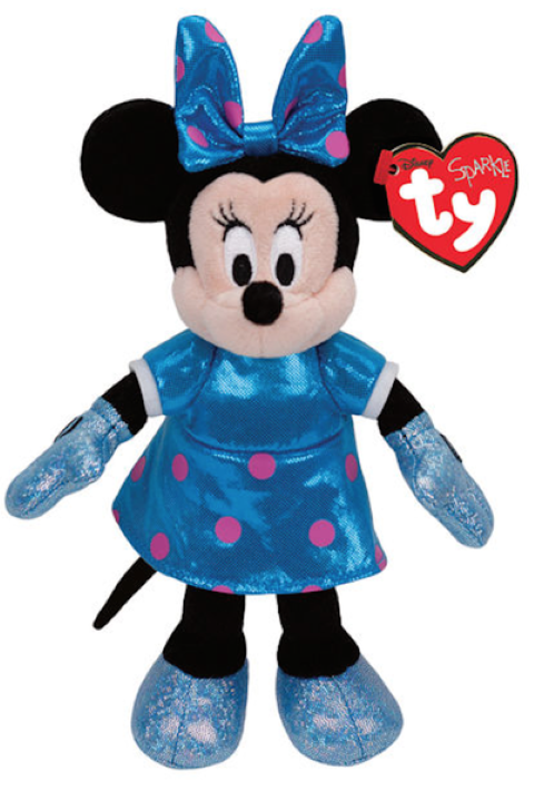 Beanie Boos Regular Minnie Teal Sparkle