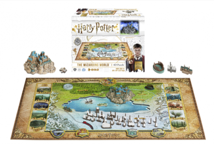 Harry Potter Wizarding World 4D Large Puzzle